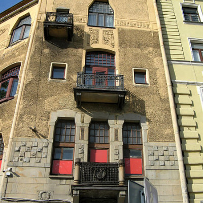 Доходный дом Лидваль. Автор: Екатерина Борисова, Wikimedia Commons