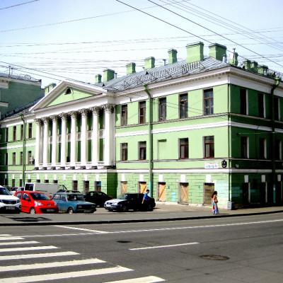 Дом с ротондой. Автор: GAlexandrova, Wikimedia Commons