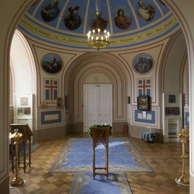 Домовая церковь, источник фото: https://www.yusupov-palace.ru/church