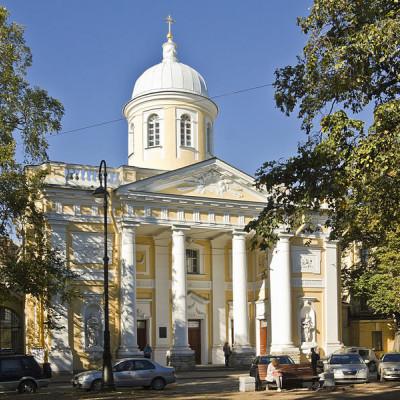 Евангелическо-лютеранская церковь святой Екатерины, источник фото: Wikimedia Commons, Автор: Lion10