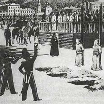 Казни в Петропавловской крепости