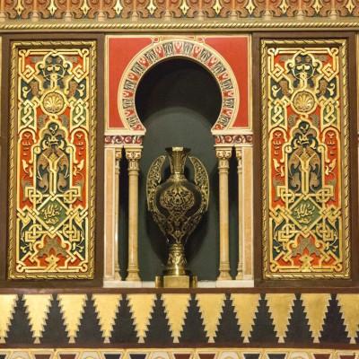 Фрагмент интерьера Мавританской гостиной Юсуповского дворца, источник фото: https://vk.com/public29176041