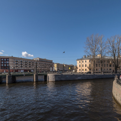 Канал Грибоедова. Author: Florstein (WikiPhotoSpace). Creative Commons
