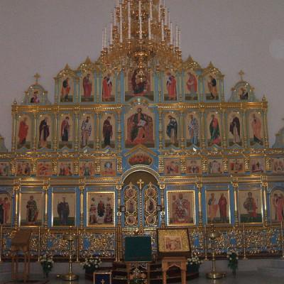 Иконостас. Автор: Пётр Иванов, Wikimedia Commons