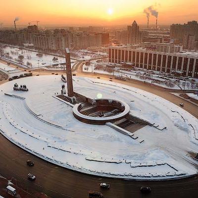 Площадь Победы. Автор: Ivan Smelov, блог автора: http://smelov.livejournal.com/, Wikimedia Commons