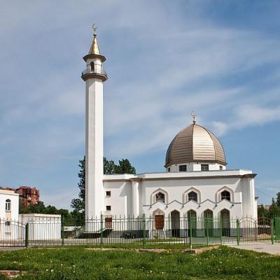 Мечеть в Коломягах, источник фото: Wikimedia Commons, Автор: andrew.zorin