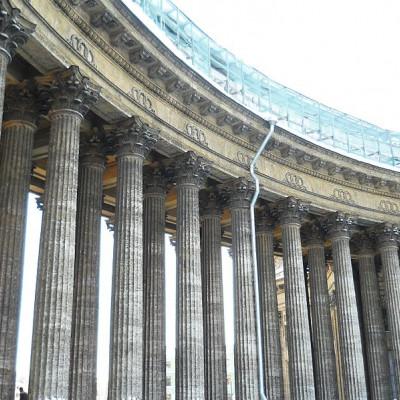 Колоннада Казанского собора Санкт-Петербурга, источник фото: Wikimedia Commons, Автор: genomus