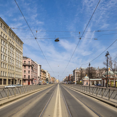Лиговский проспект в Санкт-Петербурге, источник фото: Wikimedia Commons, Автор: Florstein (WikiPhotoSpace)