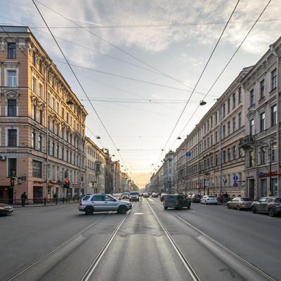 Литейный проспект в Санкт-Петербурге, источник фото: Wikimedia Commons, Автор: Florstein (WikiPhotoSpace)