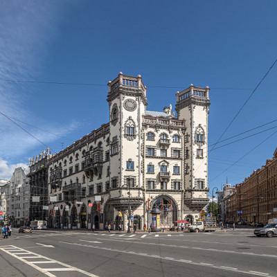 Дом Розенштейна. Автор: Alex 'Florstein' Fedorov, Wikimedia Commons