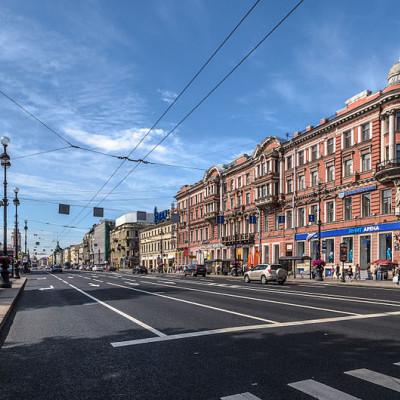 Невский проспект в Санкт-Петербурге, источник фото: Wikimedia Commons, Автор: Florstein (WikiPhotoSpace)