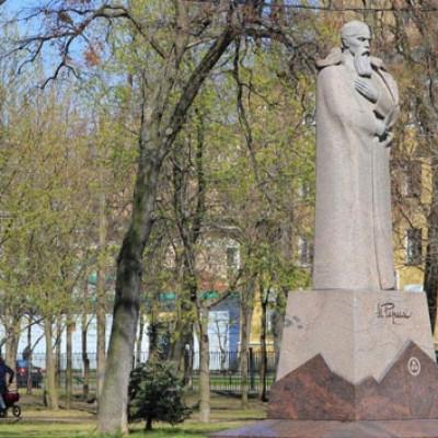 Памятник Н. К. Рериху, источник фото: http://www.rutraveller.ru/place/120540