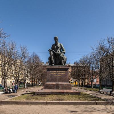 Памятник Н. А. Римскому-Корсакову. Автор: Alex Florstein, Википедия