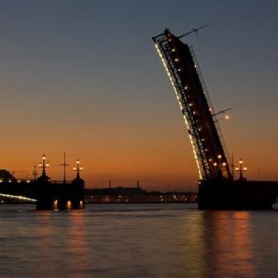 Мост Александра Невского через Неву, источник фото: http://desyatka.info/samye-krasivye-mosty-peterburga/