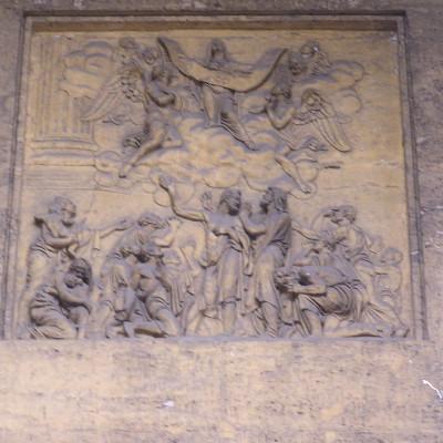 Скульптура Казанского собора, источник фото: http://www.liveinternet.ru/users/bolivarsm/post328103387/