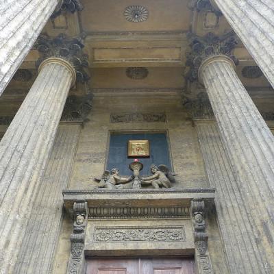 Вход в Казанский собор, источник фото: http://www.liveinternet.ru/users/bolivarsm/post328103387/
