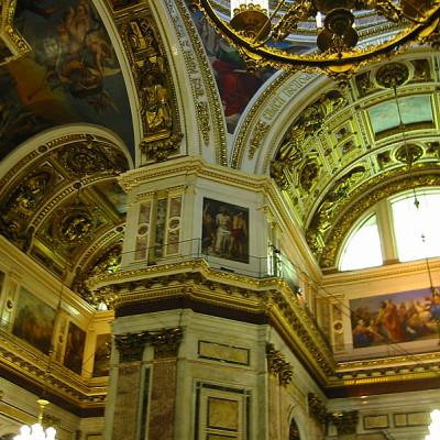 Убранство Исаакиевского собора. Author: Ximeg. Creative Commons