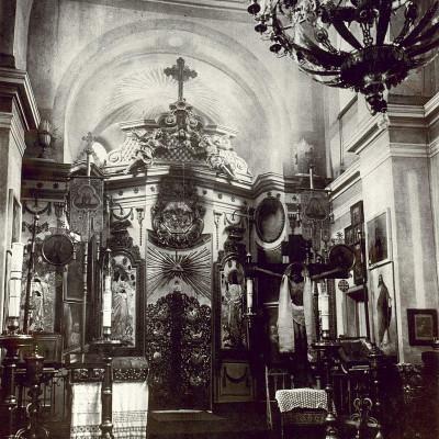 Интерьер храма. 1910-е годы. Автор: Ras67, Wikimedia Commons