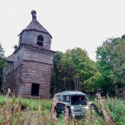 """Трофи-рейд """"Вепсский Лес"""", источник фото: https://vk.com/vepski_les"""