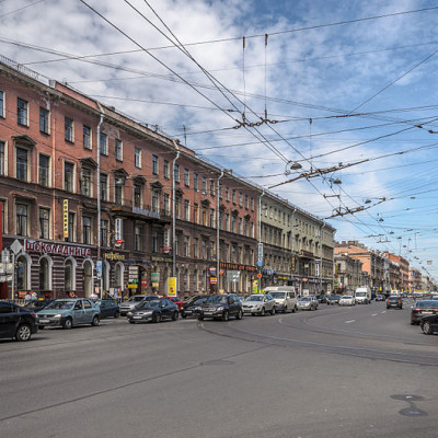 Владимирский проспект, источник фото: Wikimedia Commons, Автор: Florstein