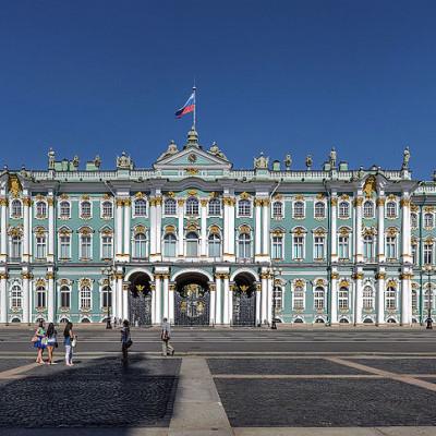Эрмитаж. Автор фото: Florstein (WikiPhotoSpace)