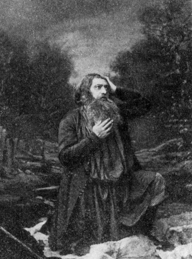 Осип Афанасьевич Петров в роли Сусанина. Источник: Wikimedia Commons