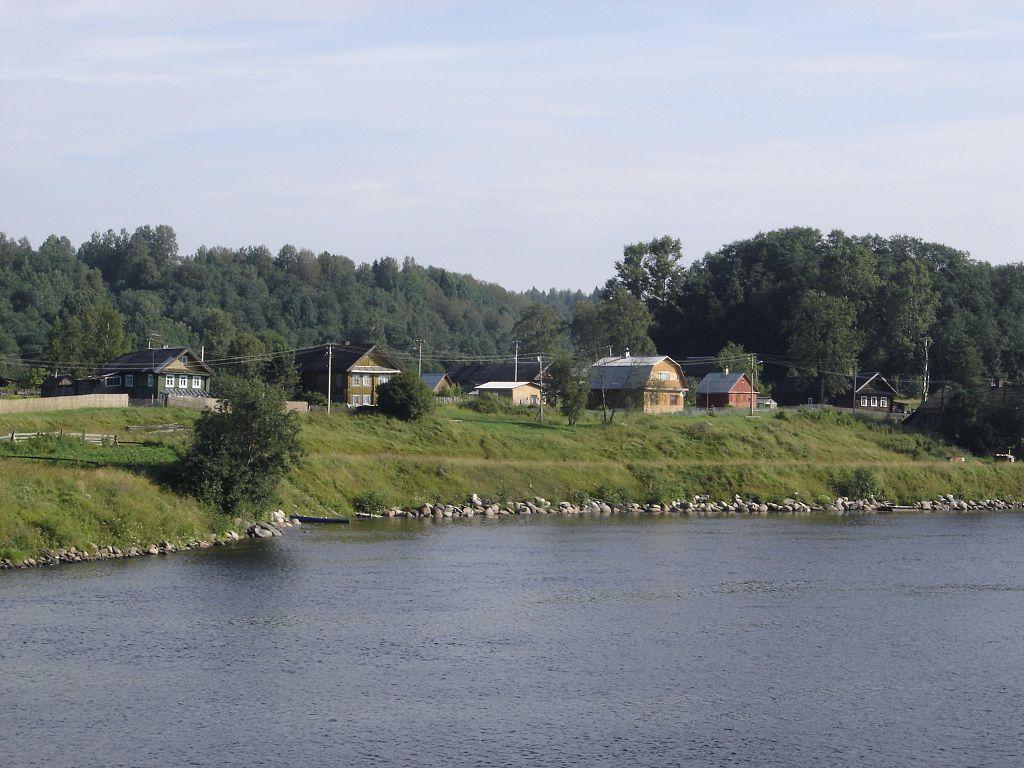 Река Свирь. Фото: Gérard Janot (Wikimedia Commons)
