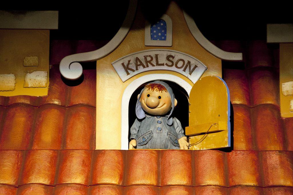"""Спектакль """"Карлссон, который живёт на крыше"""". Театр """"Karlsson Haus"""". Фото: karlssonhaus.ru"""