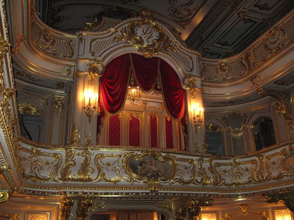 Дворец Юсуповых на Мойке. Домашний театр. https://commons.wikimedia.org