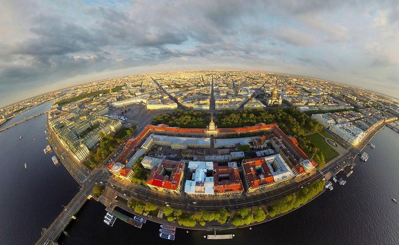 Санкт-Петербург с высоты птичьего полёта. Фото: vyborstroi.ru