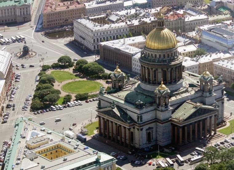 Исаакиевский собор склеенные колонны фото
