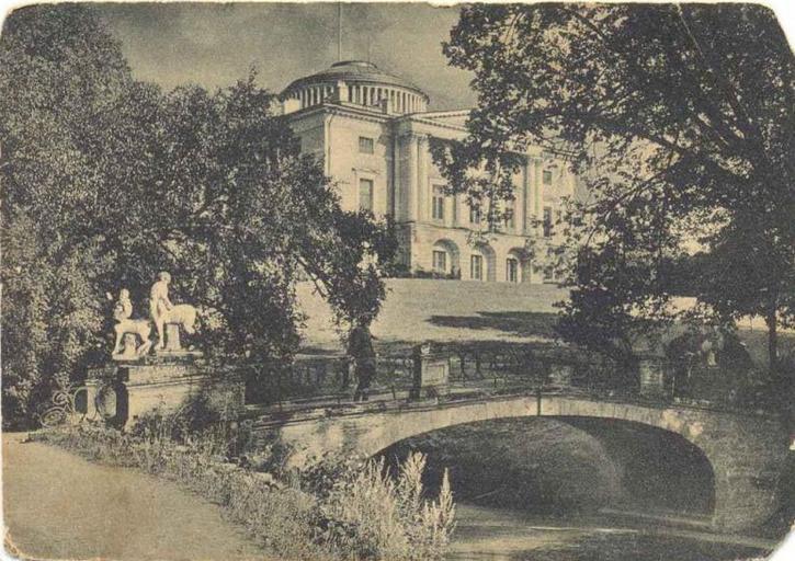 старинные фотографии г павловск спб памятник выполняется путём