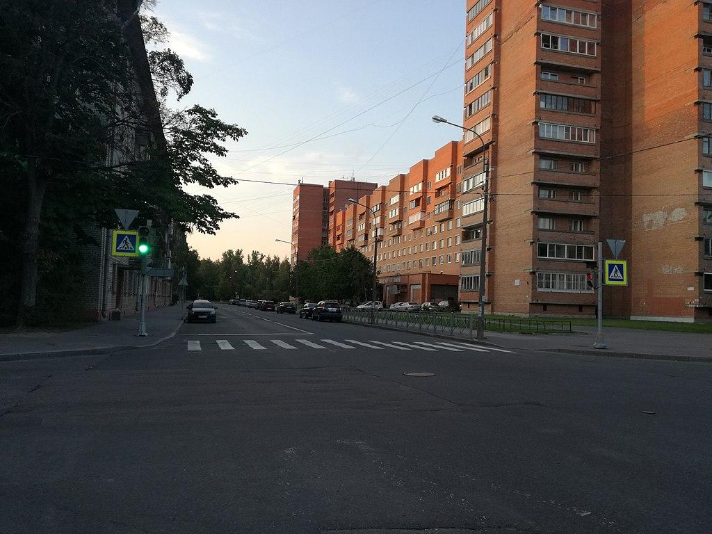 Улица Покрышева. Фото:  Lvova