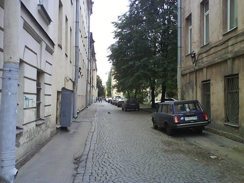 Улица Репина, источник фото: Wikimedia Commons, Автор: Shulia (Шуляков Игорь)