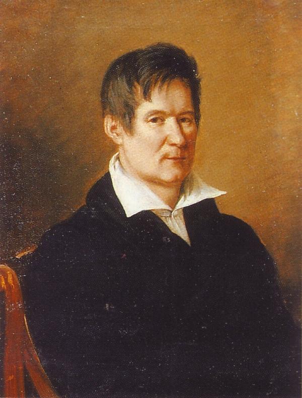 Портрет архитектора В. П.Стасова. Художник А. Г. Варнек. 1820-е гг.