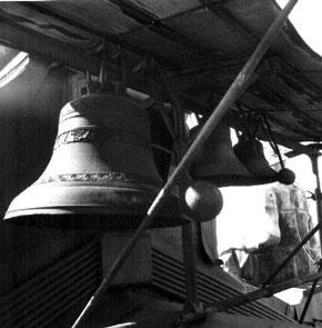 Колокола башенных часов, 29.06.1993 г. Фото: hepd.pnpi.spb.ru
