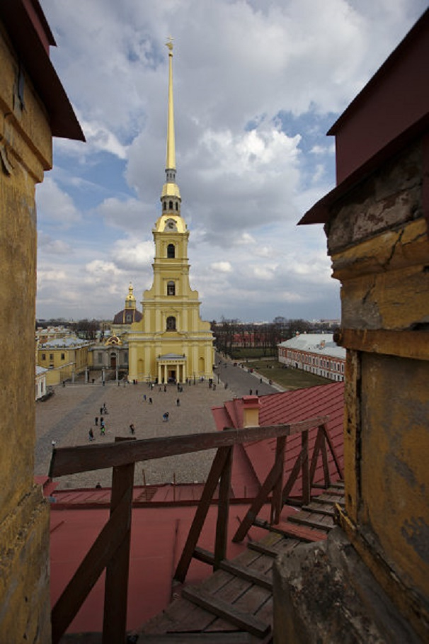 Петропавловский собор. Автор фото: Anton Vaganov (Wikimedia Commons)