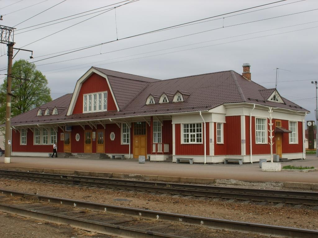Здание железнодорожного вокзала станции Приозерск, 1916 г. Арх. Бруно Гранхольм. Фото: Никич
