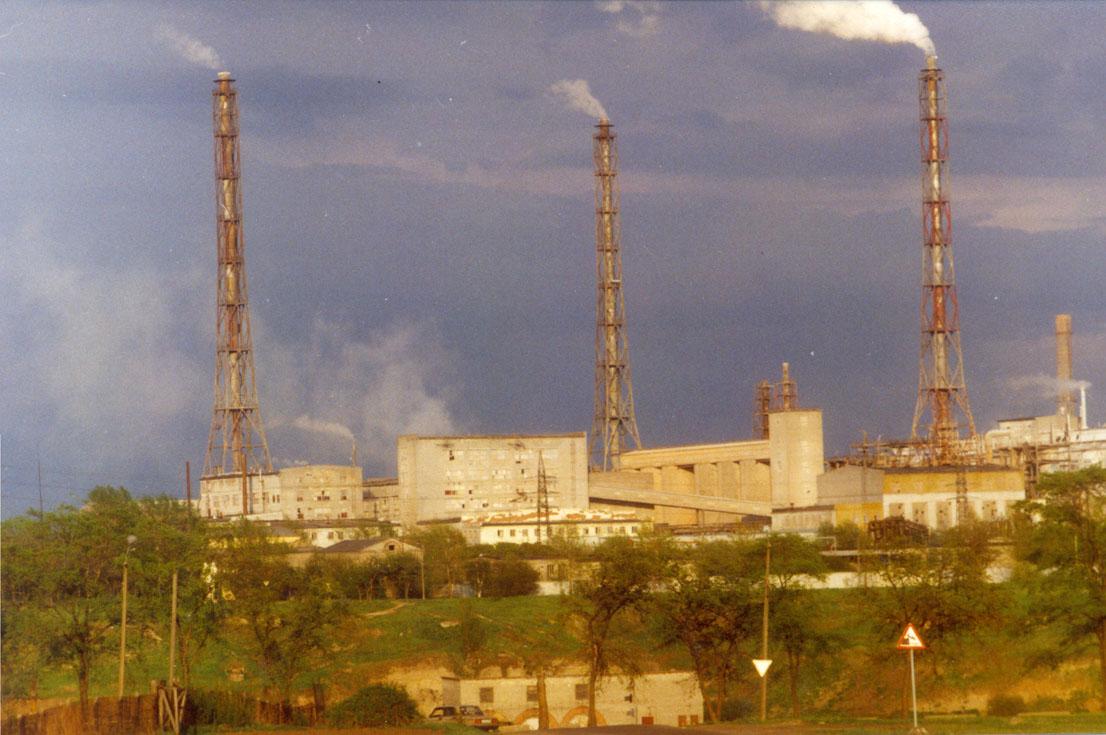 Алюминиевый завод в Волхове. Фото: Wladimir1995.(Wikimedia Commons)