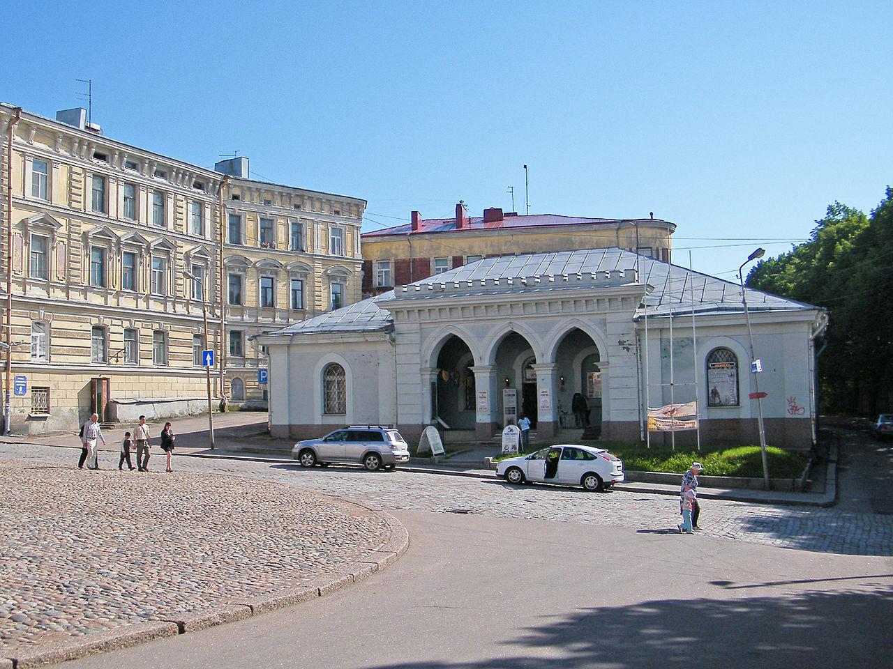 Здание гарнизонной гауптвахты. Автор фото: Борис Мавлютов