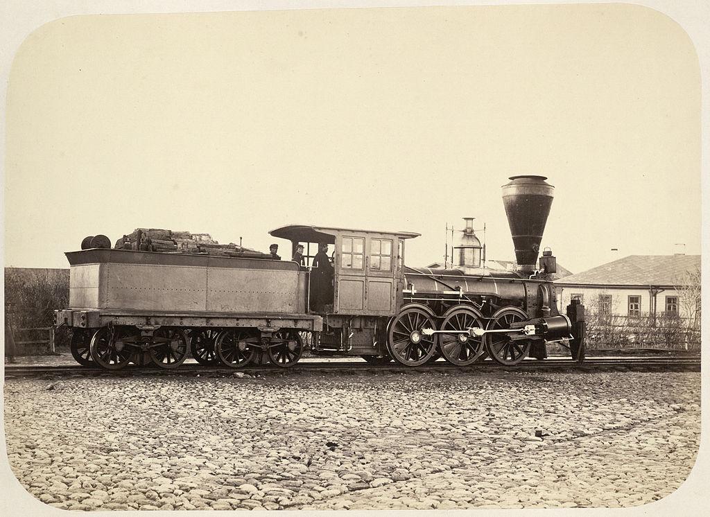 Паровоз серии Г после реконструкции. В тендере видны дрова. Автор: SMU Central University Libraries (Wikimedia Commons)