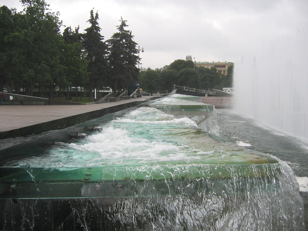 Устройство одного из фонтанов. Автор: Yanachka, Wikimedia Commons
