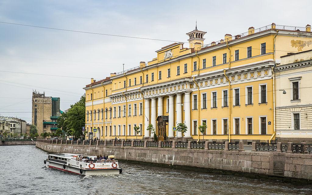 Вид на Юсуповский дворец: Фото: Ninaras (Wikimedia Commons)