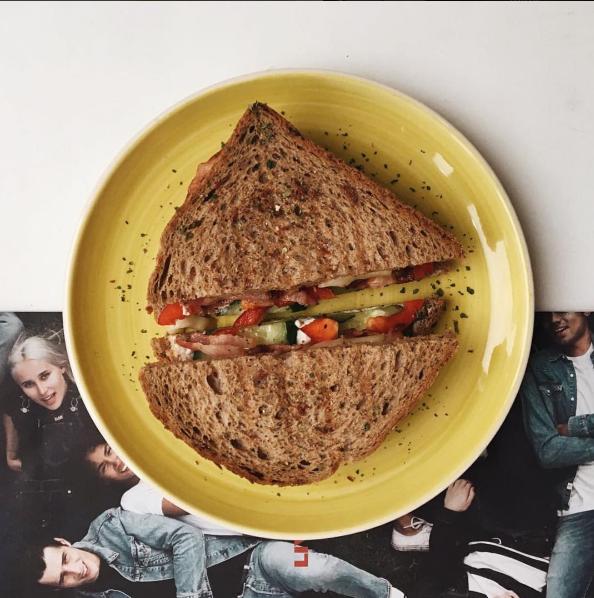 ЗАВТРАК. Сэндвичи.