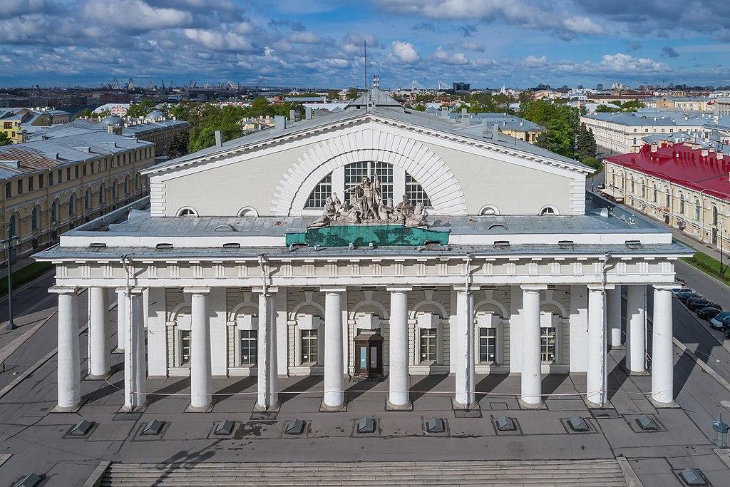 Здание Биржи. Фото: A.Savin