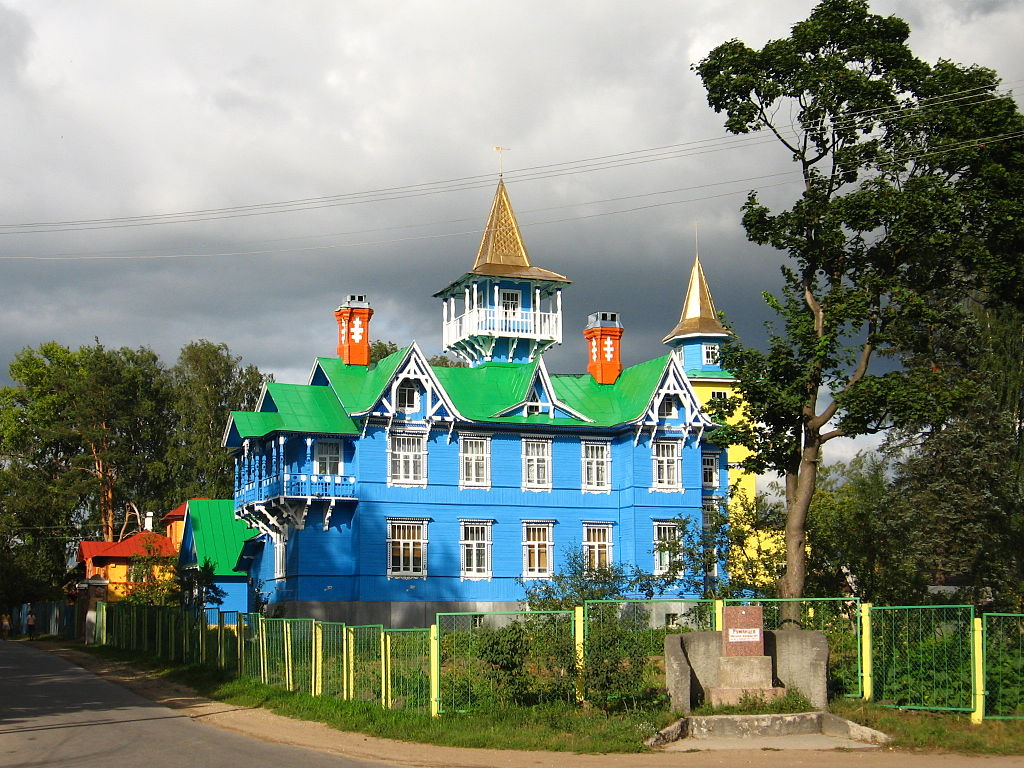 Здание общины трезвенников. Фото: Алексей Лавров (Wikimedia Commons)