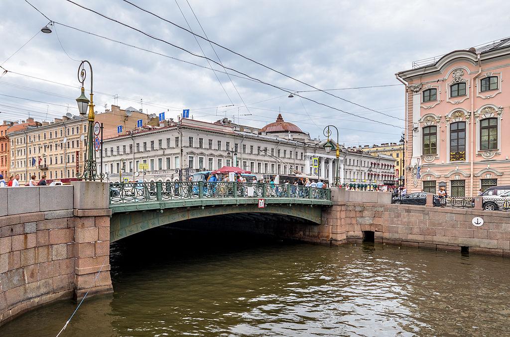 Зеленый мост. «© Alex Florstein Fedorov, Wikimedia Commons»