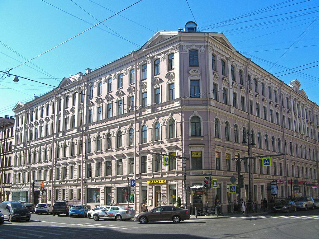 Улица Жуковского, Санкт-Петербург. Фото: Екатерина Борисова